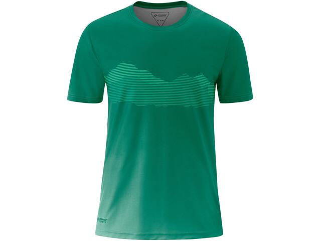 Maier Sports Ludo Chemise manches courtes Homme, ultramarine green